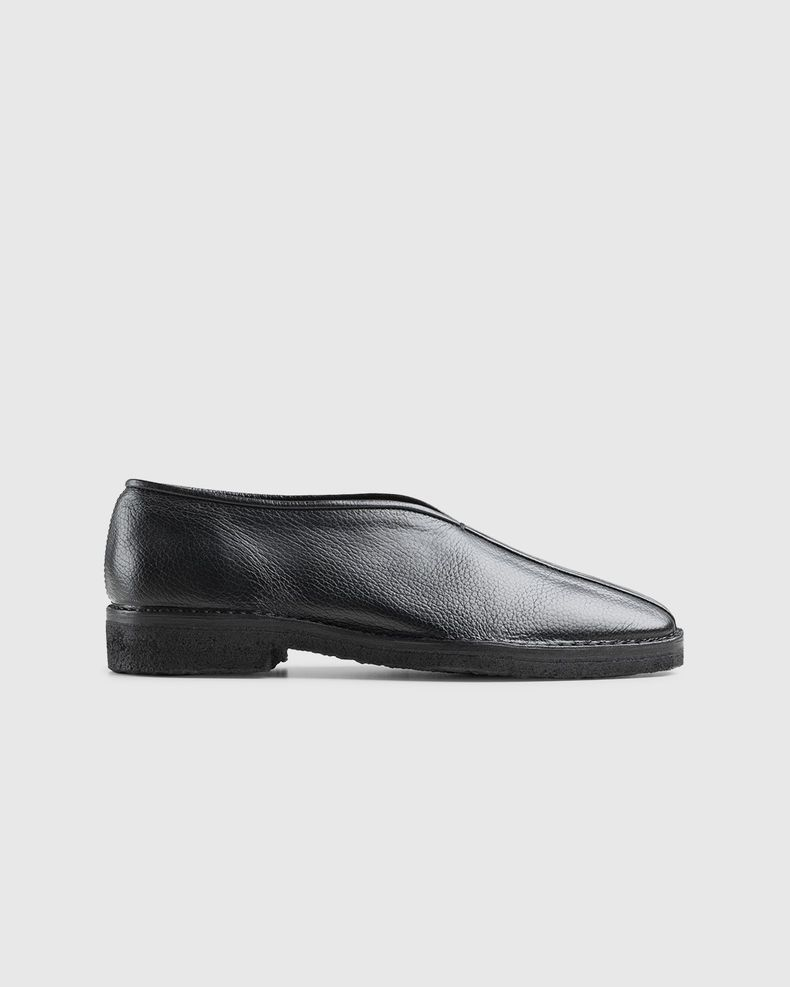 Lemaire – Leather Chinese Slippers Black