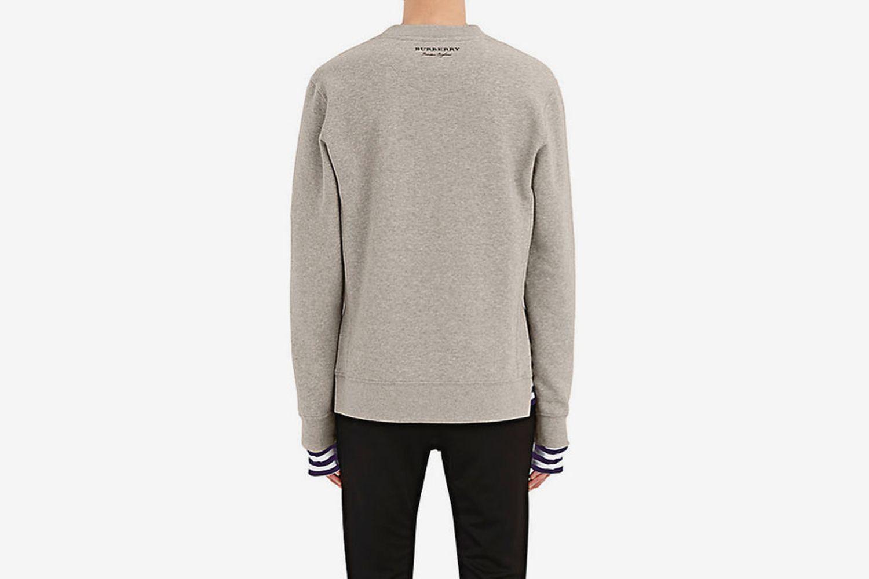 Cotton-Blend Sweatshirt