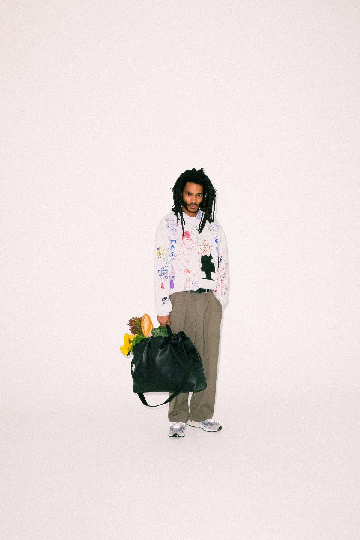 Artist Bryant Giles Takes Hermès's Timeless Bags for a Spin In His Studio