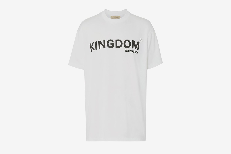 Kingdom Print Cotton T-shirt