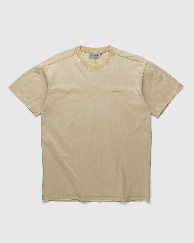 Carhartt WIP – Ashfield T-Shirt Brown - Image 1