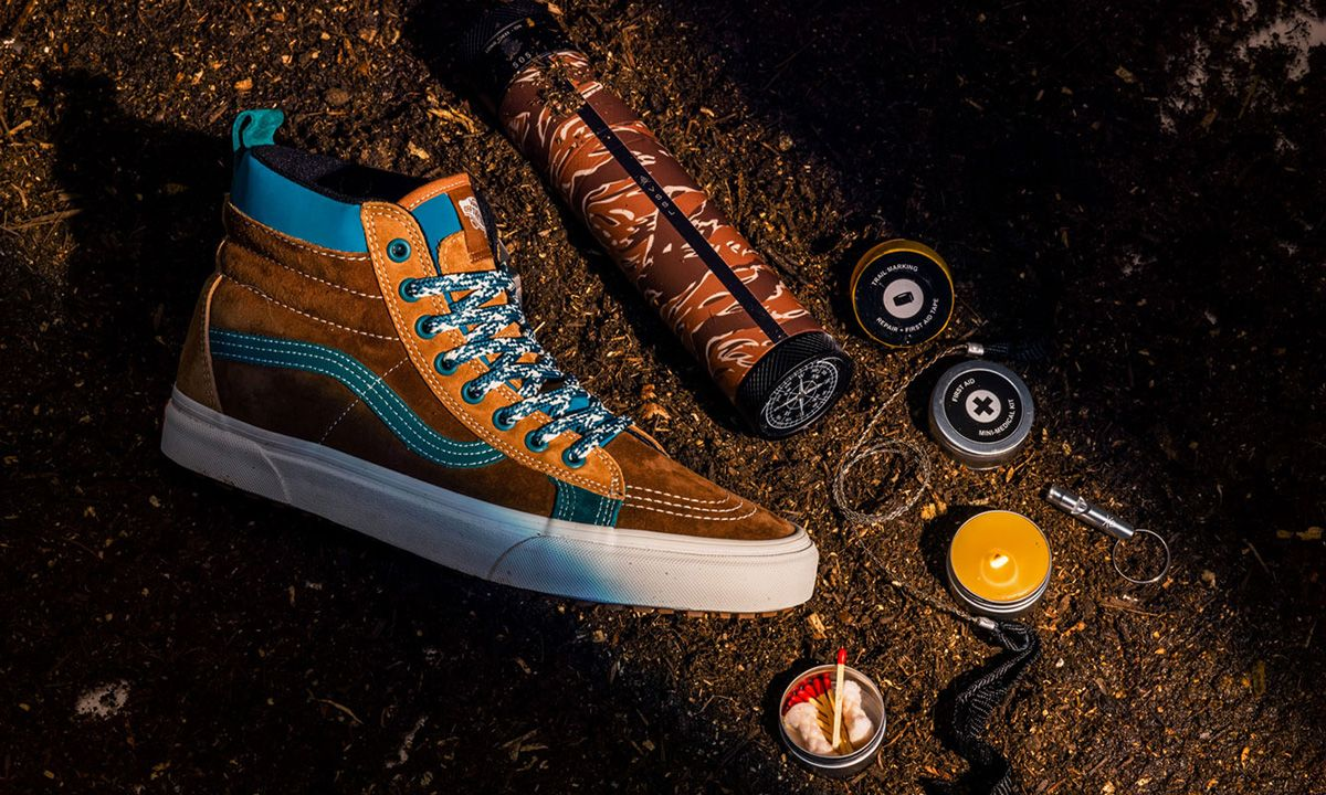 Vans Pairs Classic Sneakers With Custom VSSL Outdoor Survival Kits