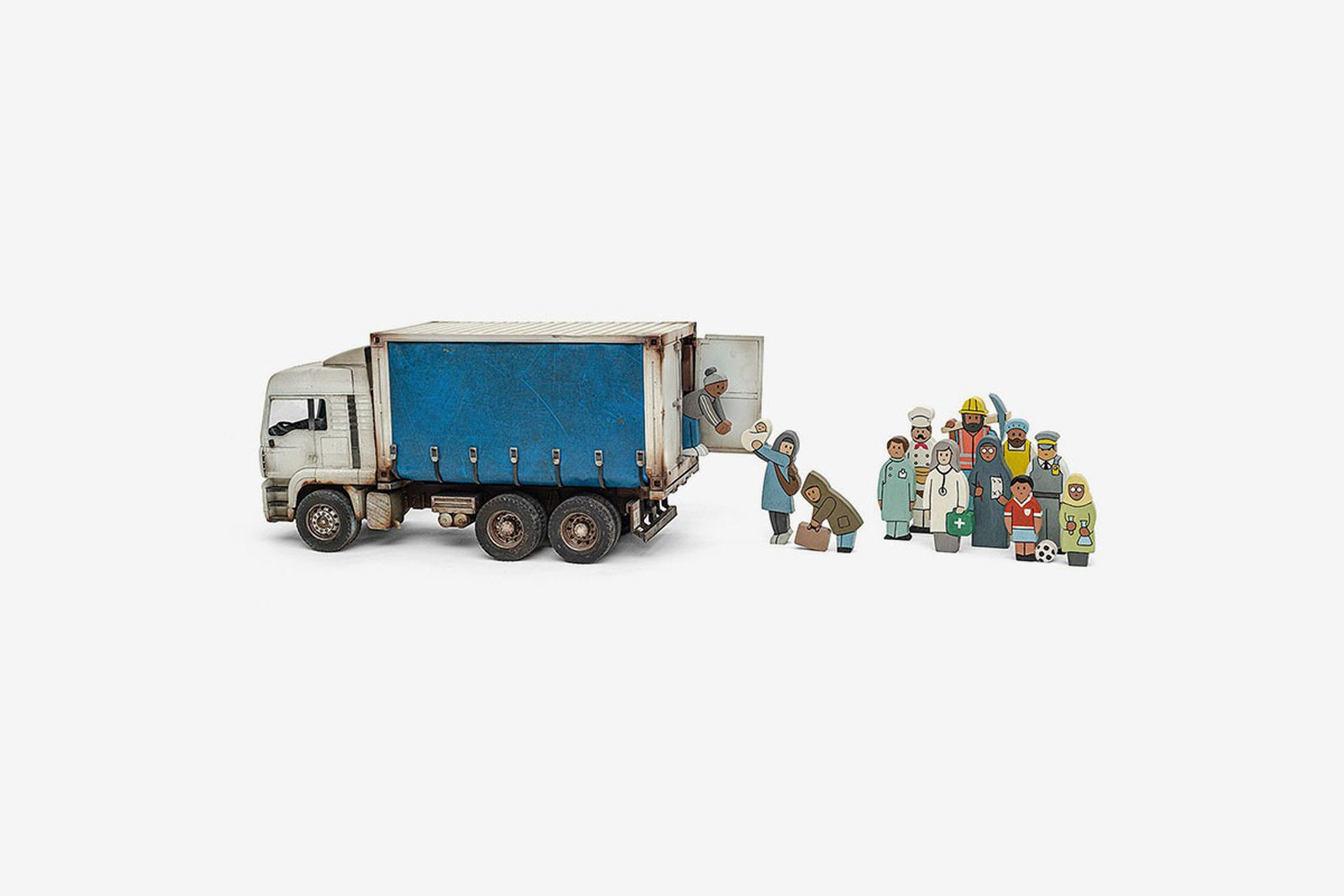 Banksy Gross Domestic Product truck