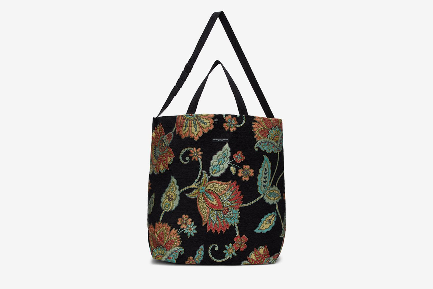 Floral Rug Jacquard Carry All Tote