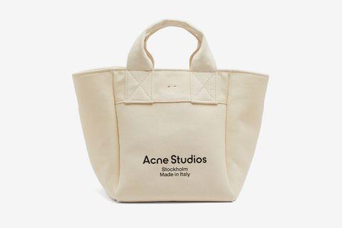 Alisse Logo-Print Canvas Tote Bag