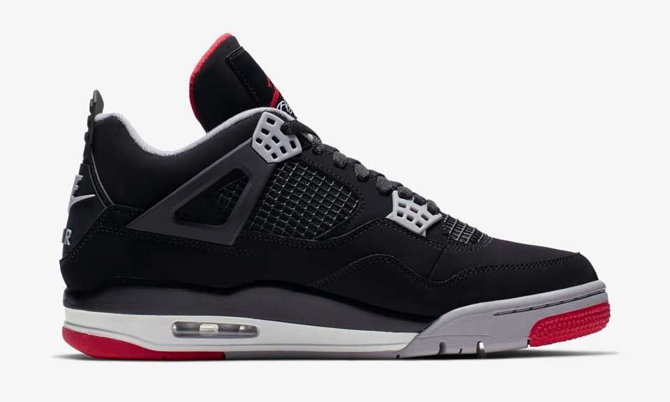 "07bcd1a5a1b984 Nike Air Jordan 4 ""Bred""  When   Where to Buy Today"