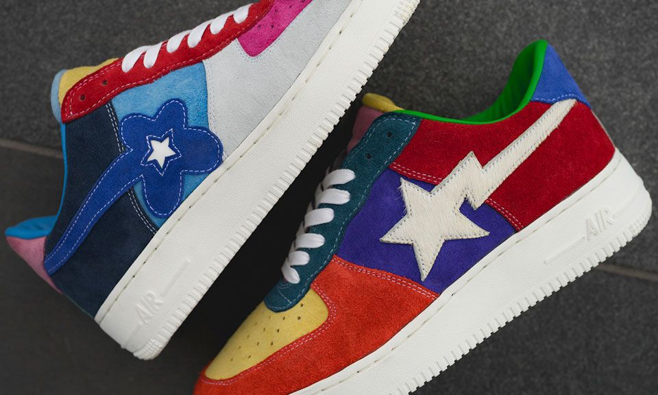 This Custom Air Force 1 Features Bape Tyler The Creator