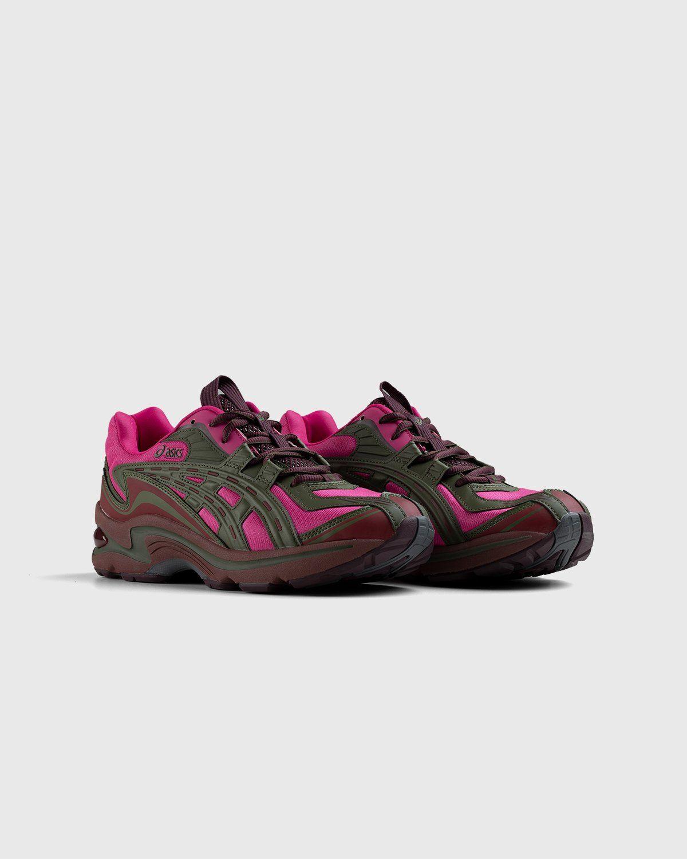 ASICS – FB1-S Gel-Preleus Pink Rave/Olive Canvas - Image 2