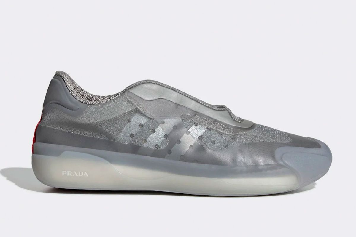 Official Images Reveal Prada x adidas Luna Rossa 21 in Silver Colorway 3