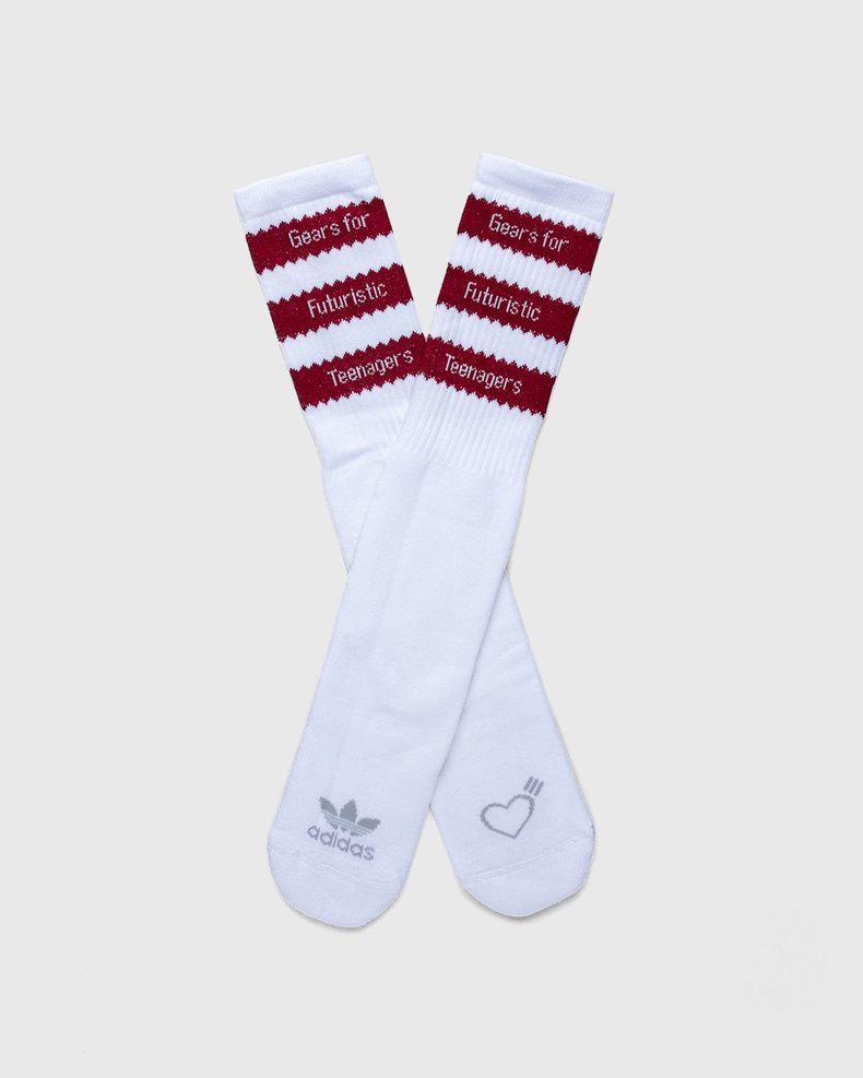 adidas Originals x Human Made — Socks White