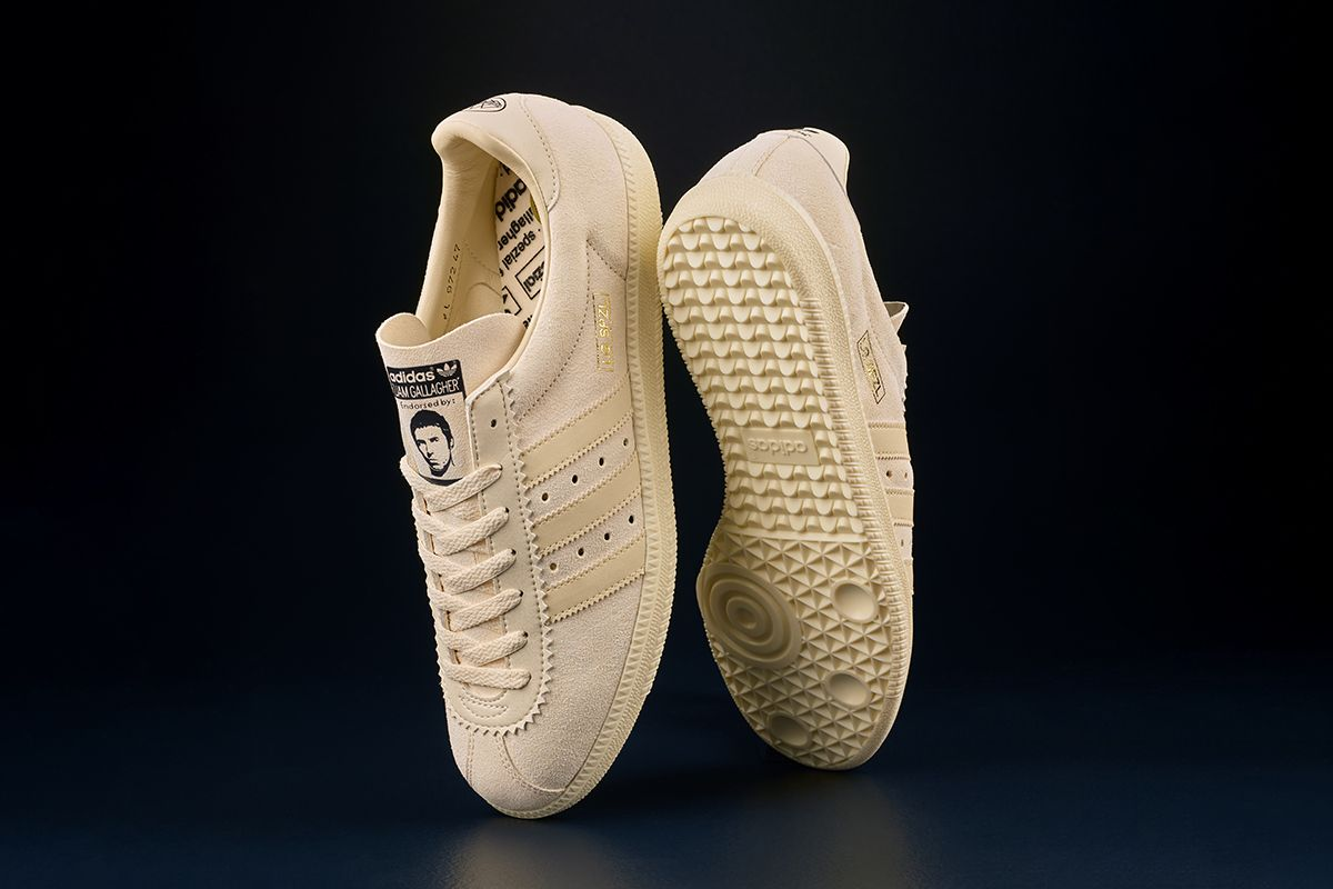 adidas Taps Liam Gallagher for Clean SPEZIAL Collab