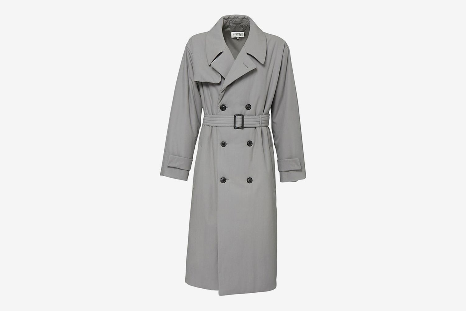 Double Breast Cotton Trench Coat