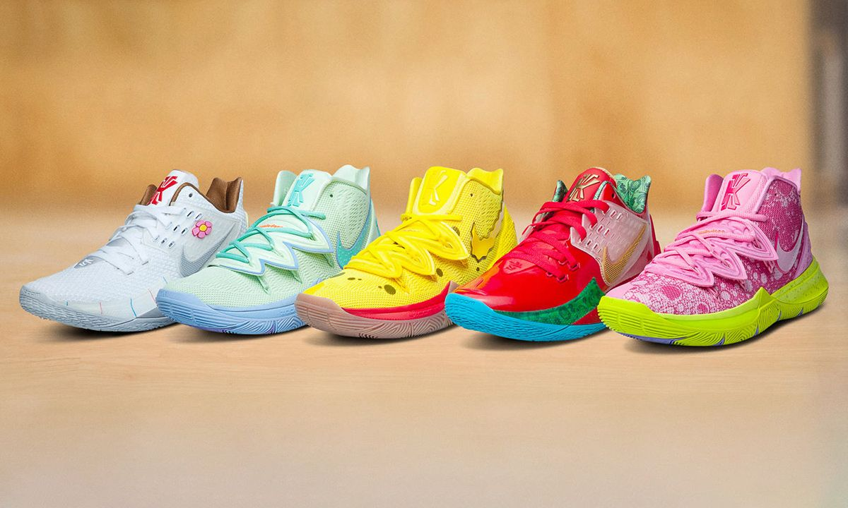 """Nike Kyrie 5 """"Spongebob"""" Pack: When & Where to Buy Today"""