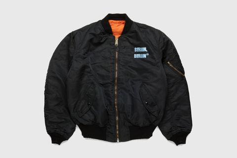 BERLIN, BERLIN Embroidered Vintage MA-1 Jacket
