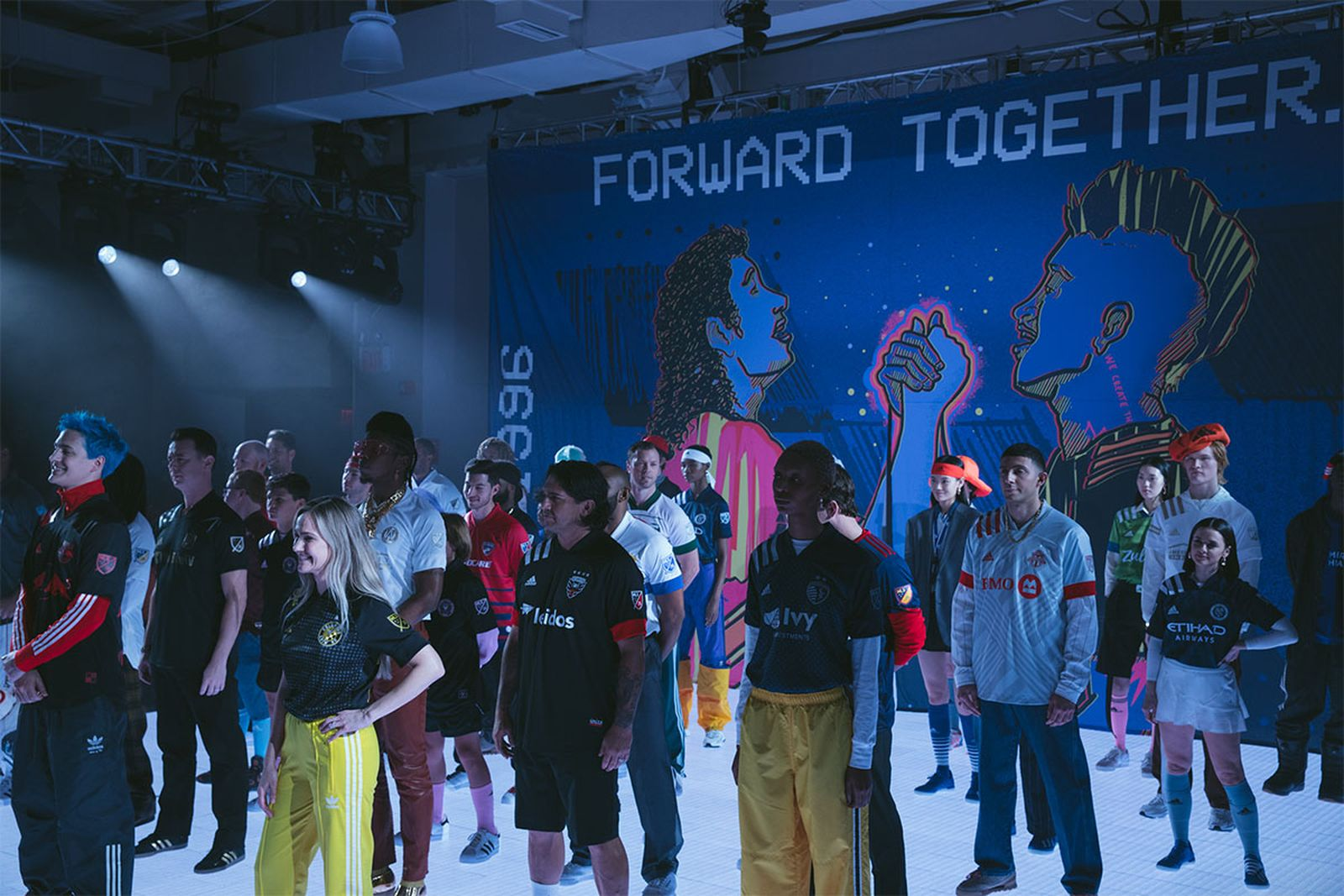 The MLS 2020 jersey unveiling at NYFW: Men's.