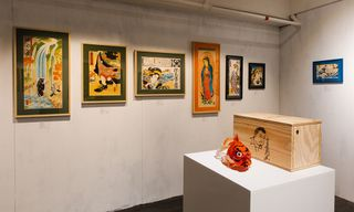 """Peep the """"Modern Art of Floating World"""" Exhibition by Three Tides Tattoo in Hong Kong"""