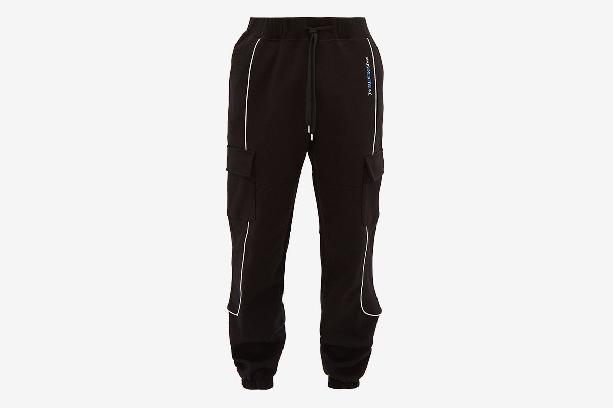 Cargo Cotton Jersey Track Pants