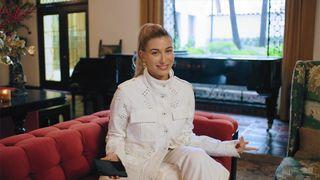 hailey bieber answers vogue questions Louis Vuitton hailey baldwin kanye west