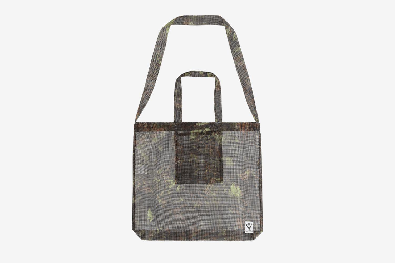 Poly Mesh Grocery Tote Bag