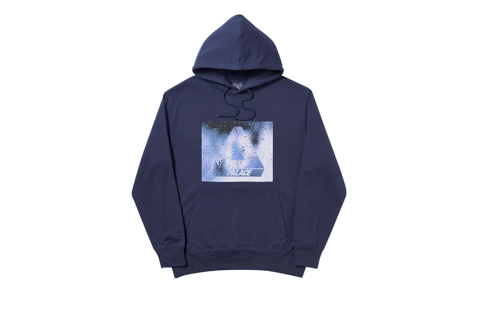 Palace 2019 Autumn Hoodie Window Licker navy front 14668 ADJUSTED