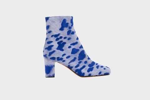 Blue 'Agnus' Boots
