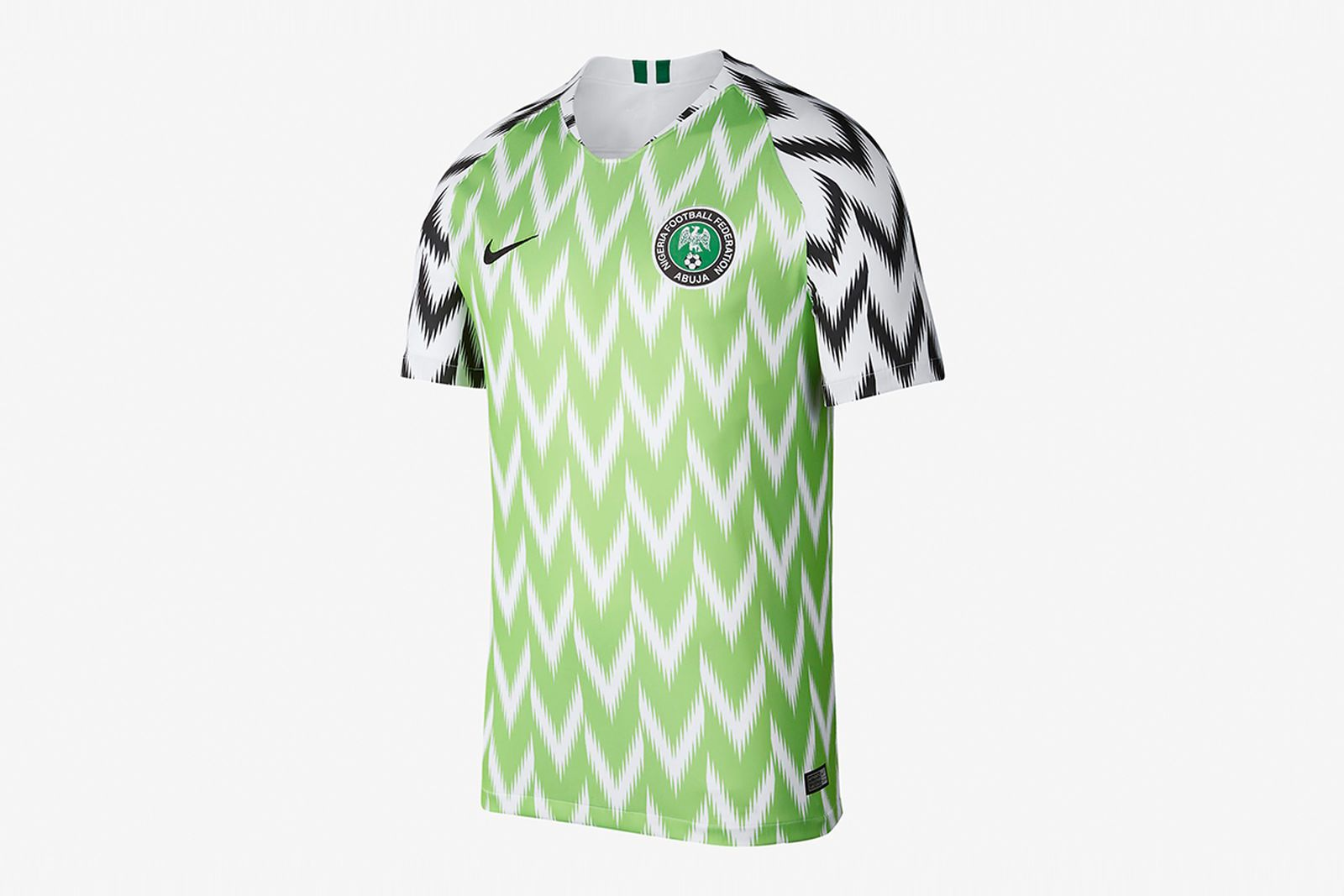 2018 nigeria stadium home jersey 2018 FIFA World Cup nigeria football kit