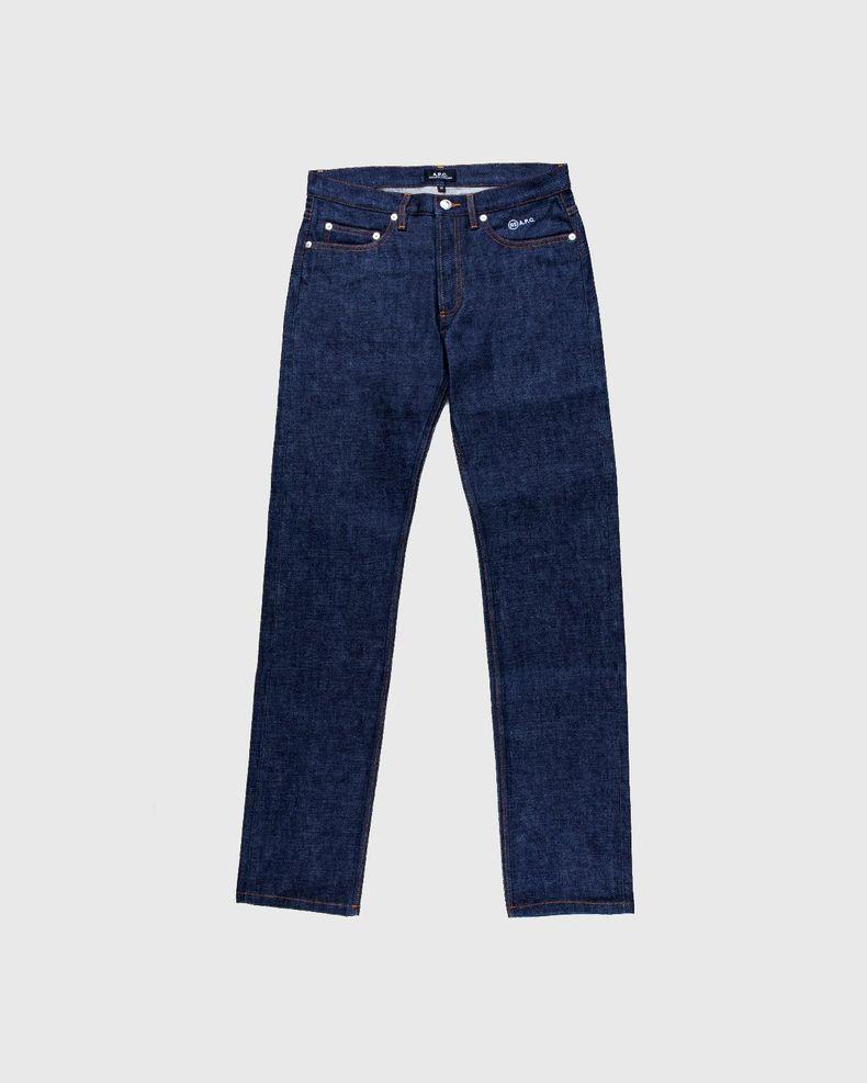 A.P.C. x Highsnobiety — Denim Jeans Blue