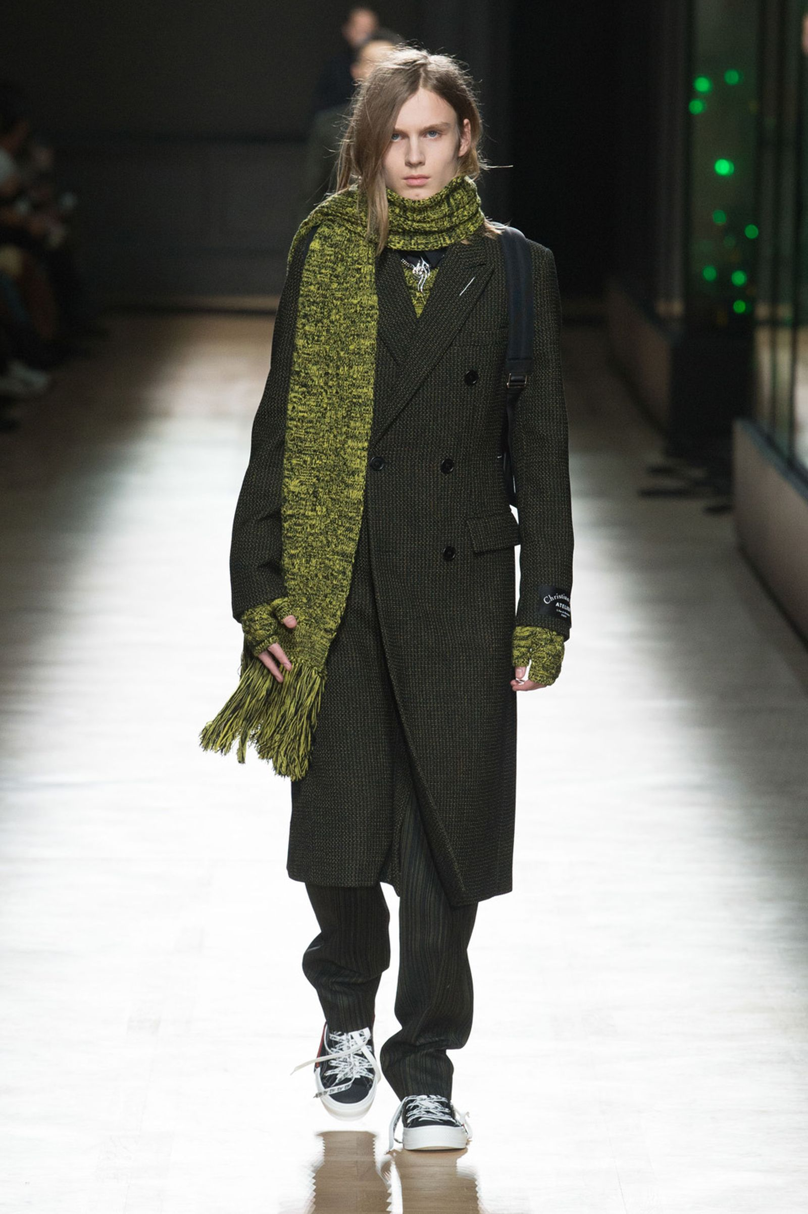 DIOR HOMME WINTER 18 19 BY PATRICE STABLE look41 Fall/WInter 2018 runway