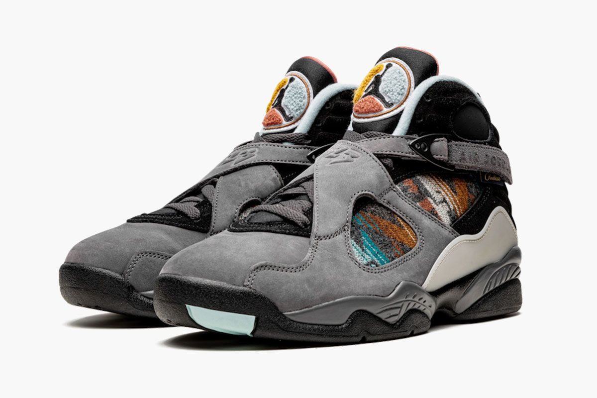 Here's Your Best Look Yet at the Upcoming Pendleton x Air Jordan 8 1