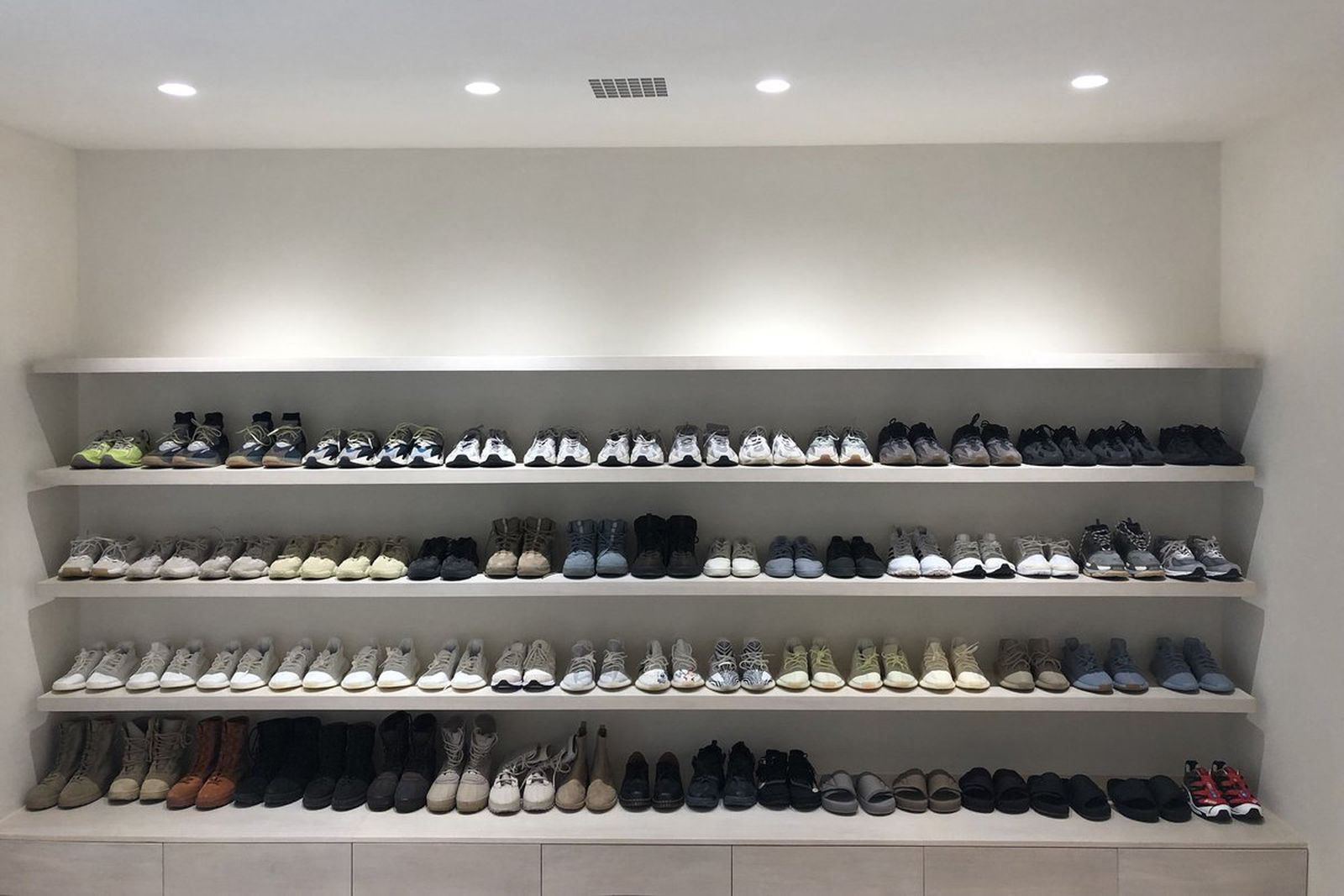 kanye west sneakers photo under armour yeezy