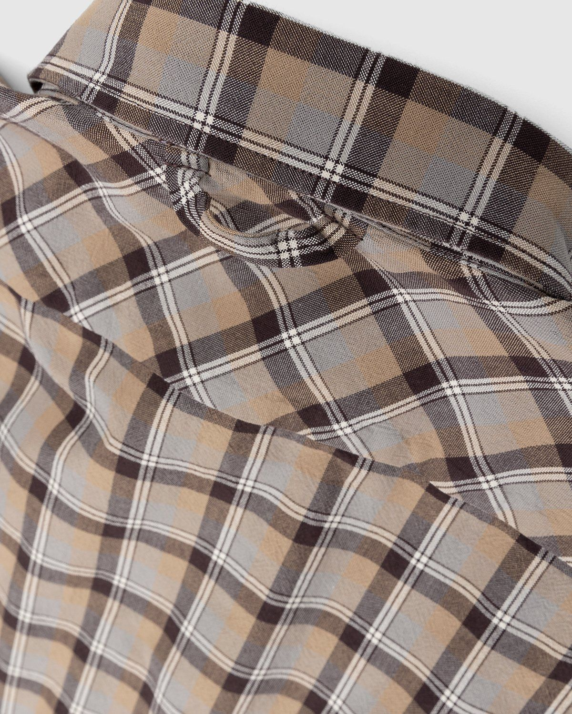 Acne Studios – Checked Shirt Brown - Image 7