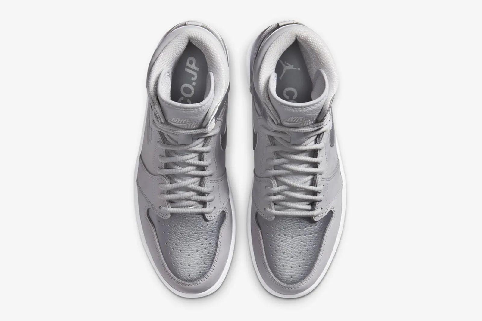 Nike Air Jordan 1 Hi Tokyo silver product shot