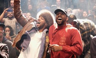 Kanye West & Kid Cudi to Host 'Kids See Ghosts' Listening Party in LA