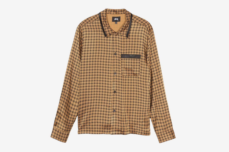 Geo Satin Shirt