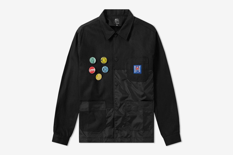 Pannelled Chore Coat