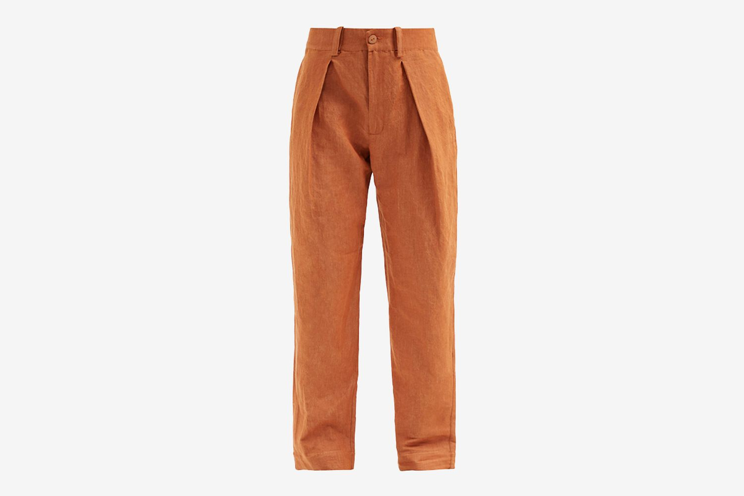 The Driver Linen-Blend Drill Trousers
