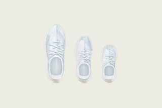 Adidas Yeezy Boost 350 V2 Cloud White Non Reflective size