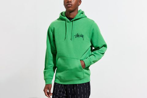 Embroidered Applique Hoodie Sweatshirt