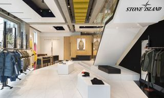 Stone Island Opens New Flagship Store in Tokyo
