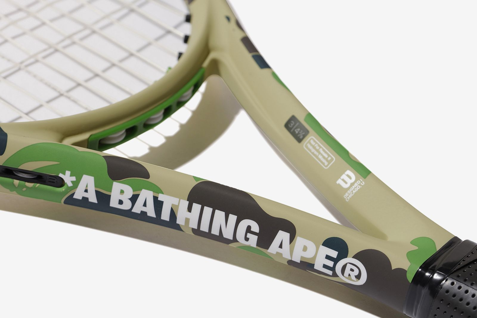 bape wilson tennis collection A Bathing Ape
