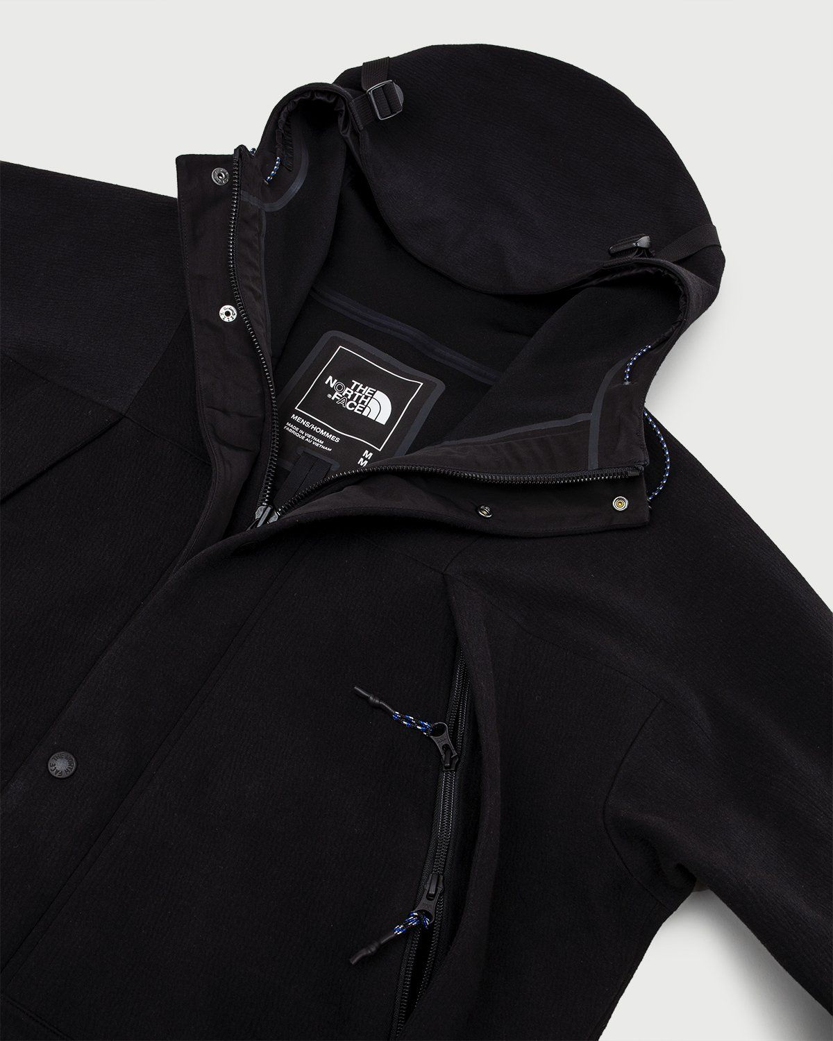 The North Face Black Series — Spacer Knit Mountain Light Jacket Black - Image 4