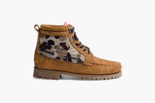 "c84005b19 Deep x Timberland ""Duck Hunt"" Is Equal Parts Duck Boot, Hiking Shoe &  Moccasin"