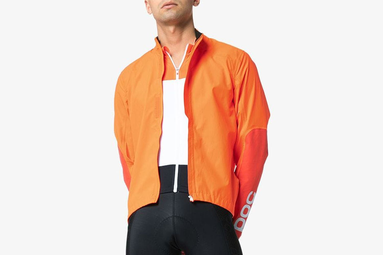 High-Neck Cycling Windbreaker Jacket