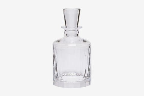 Fluted Glass Decanted