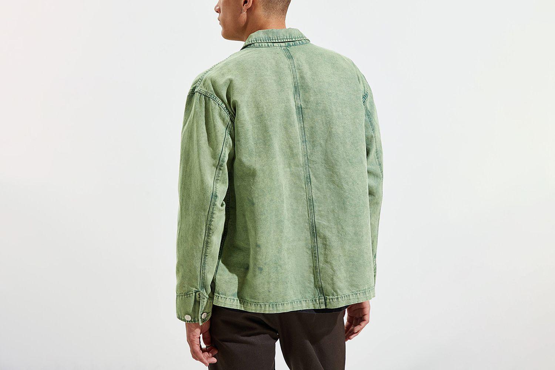 Acid Wash Chore Jacket