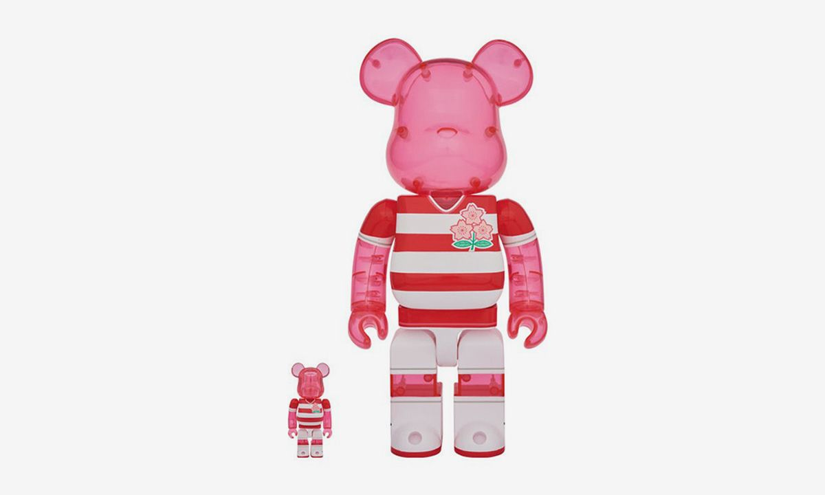"""Medicom Toy Drops """"Brave Blossoms"""" Be@rbricks Ahead of the Rugby World Cup in Japan"""