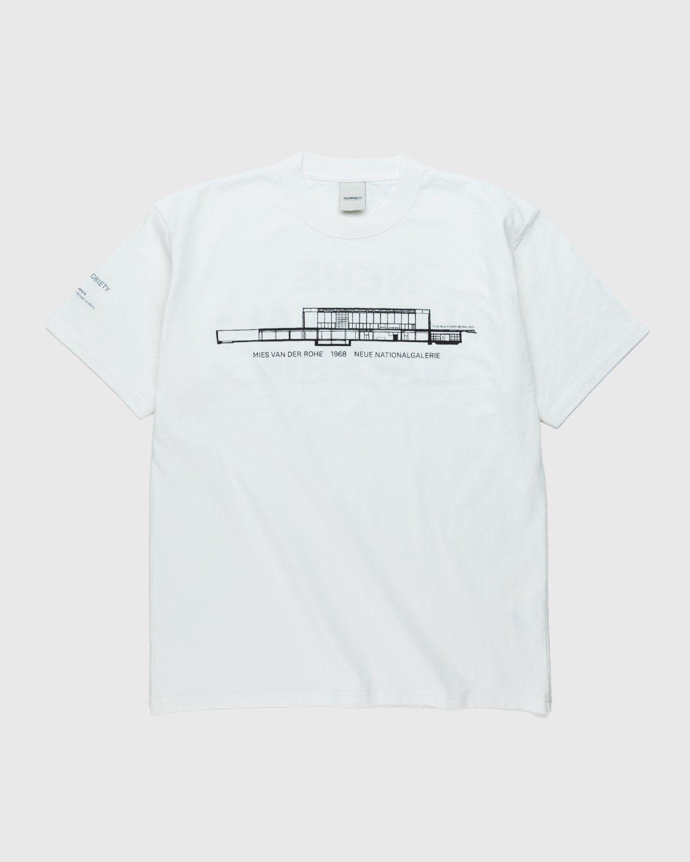 Highsnobiety x Neue National Galerie – T-Shirt White - Image 1