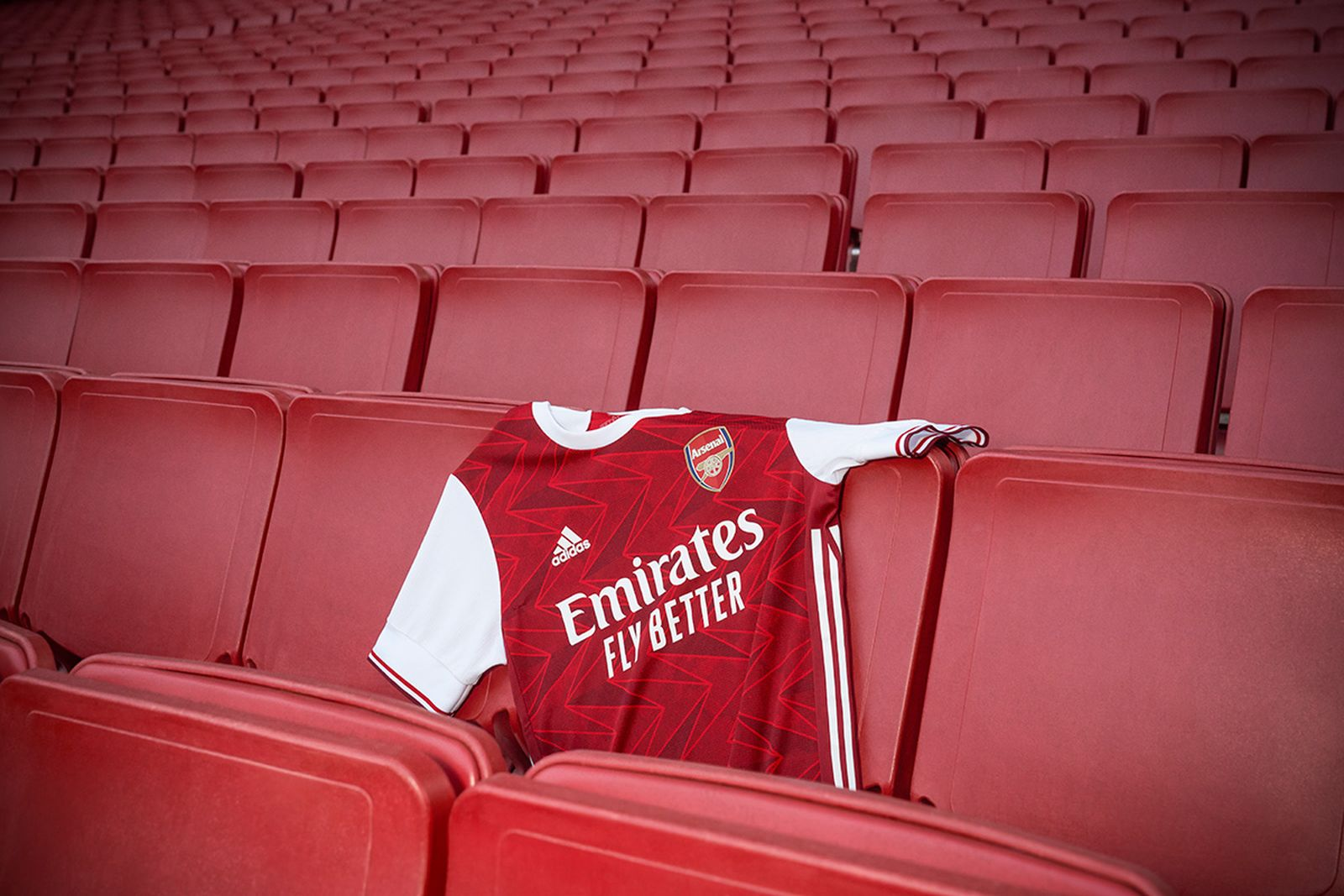 adidas arsenal home jersey for the 2020/21 season
