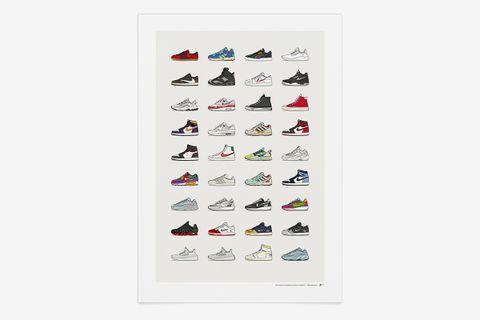 2019 Assorted Sneaker Print V3