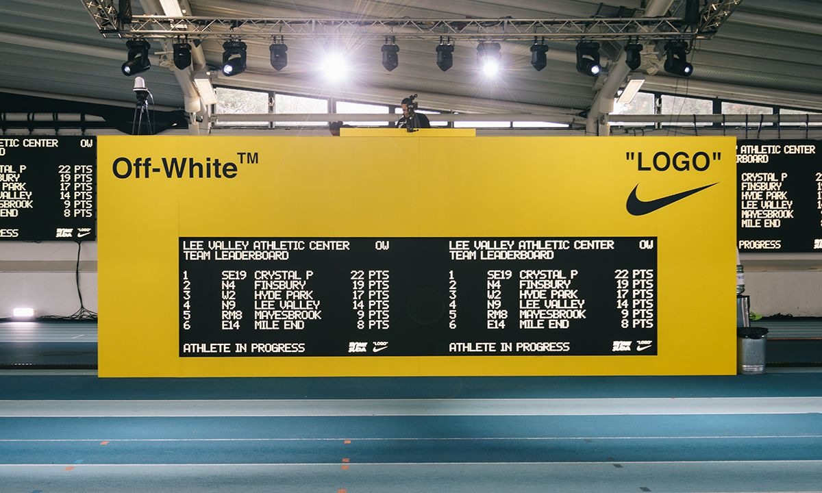 Here's What Went Down at Off-White™ & Nike's Track & Field Event in London